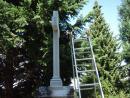 Hřbitovní kříž v Lázních Libverda   obnova (5)