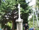 Hřbitovní kříž v Lázních Libverda   obnova (23)