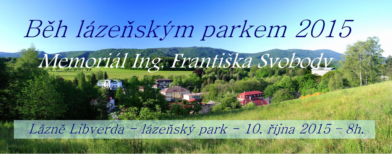 Běh lázeňským parkem 2015